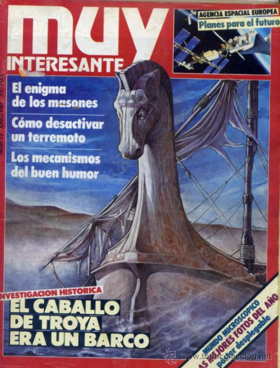 REVISTA MUY INTERESANTE. NUMERO 73 (Coleccionismo - Revistas y Periódicos Modernos (a partir de 1.940) - Revista Muy Interesante)
