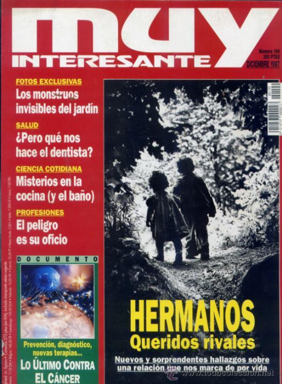 REVISTA MUY INTERESANTE. NUMERO 199 (Coleccionismo - Revistas y Periódicos Modernos (a partir de 1.940) - Revista Muy Interesante)