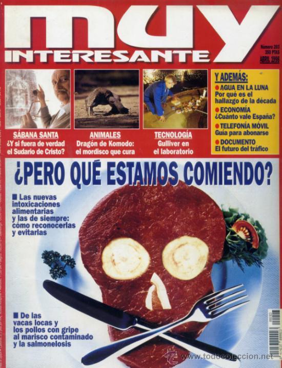 REVISTA MUY INTERESANTE. NUMERO 203 (Coleccionismo - Revistas y Periódicos Modernos (a partir de 1.940) - Revista Muy Interesante)