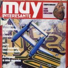 Coleccionismo de Revista Muy Interesante: REVISTA MUY INTERESANTE. NUMERO 72. Lote 33325697