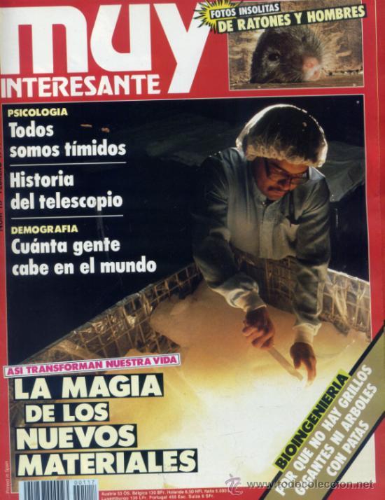 REVISTA MUY INTERESANTE. NUMERO 117 (Coleccionismo - Revistas y Periódicos Modernos (a partir de 1.940) - Revista Muy Interesante)
