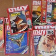 Coleccionismo de Revista Muy Interesante: LOTE 26 REVISTAS MUY INTERESANTE. Lote 33647150