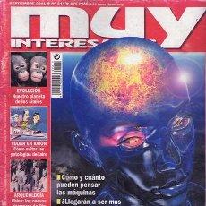 Coleccionismo de Revista Muy Interesante: REVISTA MUY INTERESANTE NR. 244 SEPTIEMBRE01. Lote 34403712