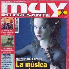 Coleccionismo de Revista Muy Interesante: REVISTA MUY INTERESANTE NR. 275 ABRIL04. Lote 34403724