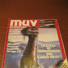 Coleccionismo de Revista Muy Interesante: REVISTA MUY INTERESANTE - NÚMERO 63 - AGOSTO 1986 - ¿ EXISTE EL MONSTRUO DEL LAGO NESS ?. Lote 35065806