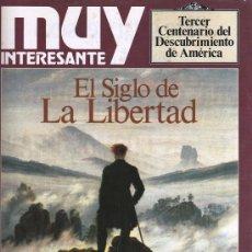 Coleccionismo de Revista Muy Interesante: MUY INTERESANTE N. 113 SUPLEMENTO EXTRA - EN PORTADA: EL SIGLO DE LA LIBERTAD (NUEVA). Lote 35718798