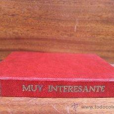 Coleccionismo de Revista Muy Interesante: REVISTA MUY INTERESANTE AÑO 1983 COMPLETO TOMO ENCUADERNADO. Lote 35741577