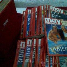 Coleccionismo de Revista Muy Interesante: Nº 92-93-94-95-96-97-98-99-100-101-102 Y 103 REVISTA MUY INTERESANTE AÑO 1989 COMPLETO. Lote 36140399