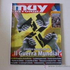 Coleccionismo de Revista Muy Interesante: MUY INTERESANTE Nº 22 2009 CRÓNICA SECRETA DE LA II GUERRA MUNDIAL. Lote 194294101