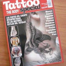 Coleccionismo de Revista Muy Interesante: TATTOO SPECIAL THE BODY; NÚMERO DEDICADO A PARTES DEL CUERPO: TATUAJES EN CABEZA, CUELLO,. ETC,,,. Lote 38435277