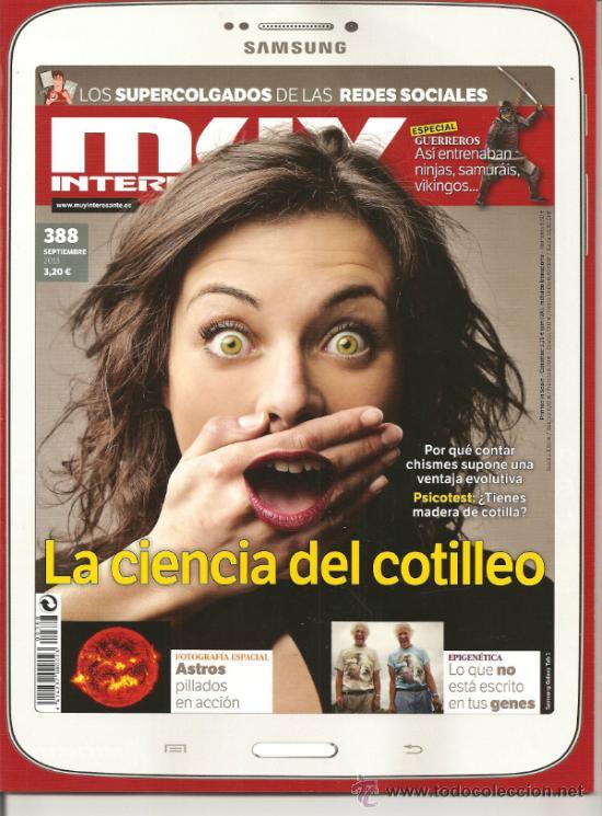 MUY INTERESANTE Nº 388 SEPTIEMBRE 2013 (30% DTO.) (Coleccionismo - Revistas y Periódicos Modernos (a partir de 1.940) - Revista Muy Interesante)