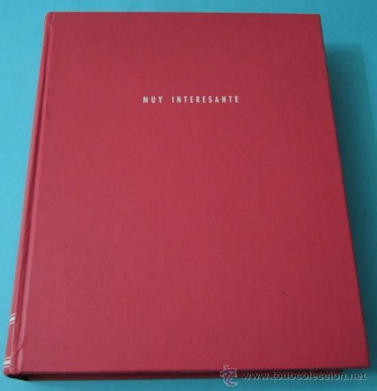 Coleccionismo de Revista Muy Interesante: MUY INTERESANTE. Nº 58, 59, 60, 64, 65, 67, 68, 69, 70, 71 Y 72 ENCUADERNADOS.FALTAN Nº 61 AL 63, 66 - Foto 2 - 38876601