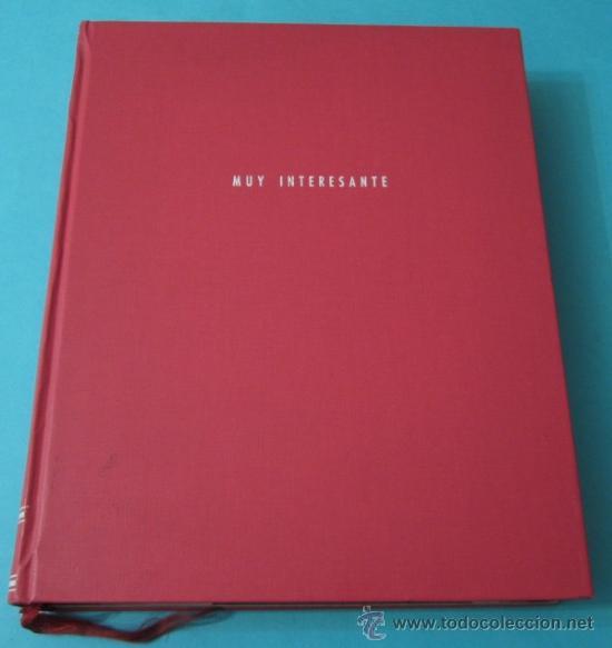 Coleccionismo de Revista Muy Interesante: MUY INTERESANTE. Nº 73, 75, 76, 77,EXTRA 1492, 83, 89, 124 Y 127, ENCUADERNADOS - Foto 2 - 38876711