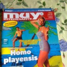 Coleccionismo de Revista Muy Interesante: MUY INTERESANTE AGOSTO 2011. Nº 363. B6R. Lote 38900544