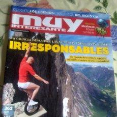 Coleccionismo de Revista Muy Interesante: MUY INTERESANTE JULIO 2011. Nº 362. B6R. Lote 38900595