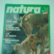 Coleccionismo de Revista Muy Interesante: COLECCIÓN DE REVISTAS NATURA. Lote 39853629