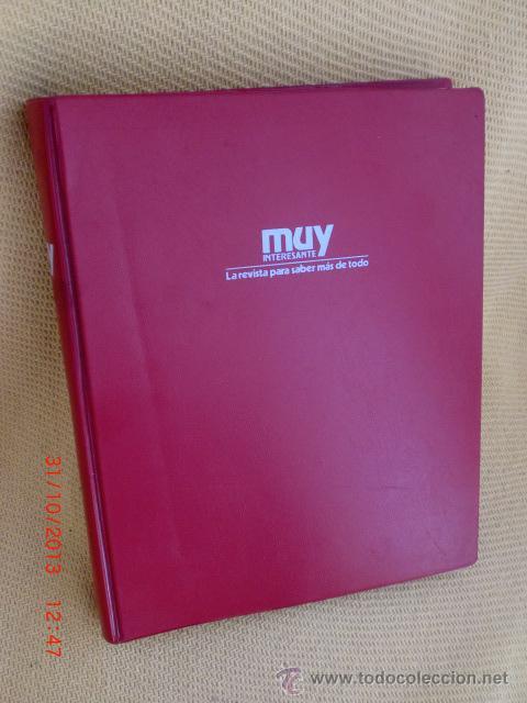 REVISTA MUY INTERESANTE,AÑO 1983, COMPLETO,ENCUADERNADO (Coleccionismo - Revistas y Periódicos Modernos (a partir de 1.940) - Revista Muy Interesante)