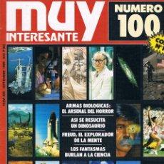 Coleccionismo de Revista Muy Interesante: REVISTA MUY INTERESANTE NUMERO 100 SEPTIEMBRE 1989 (INCLUYE FACSÍMIL DEL Nº 1). Lote 40033751