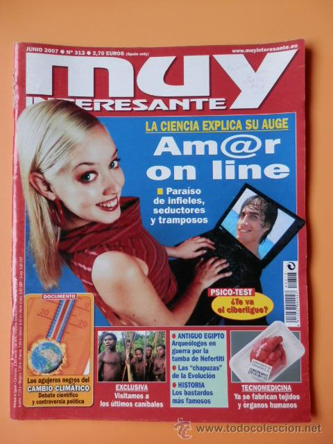 MUY INTERESANTE. Nº 313 (AMOR ON LINE) - DIVERSOS AUTORES (Coleccionismo - Revistas y Periódicos Modernos (a partir de 1.940) - Revista Muy Interesante)