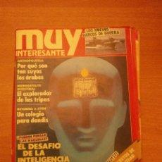 Coleccionismo de Revista Muy Interesante: REVISTA MUY INTERESANTE -Nº 114- NOVIEMBRE 1990-. Lote 41987697