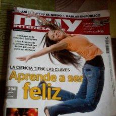 Coleccionismo de Revista Muy Interesante: MUY INTERESANTE MARZO 2014 Nº 394. APRENDE A SER FELIZ. B6R. Lote 42484178