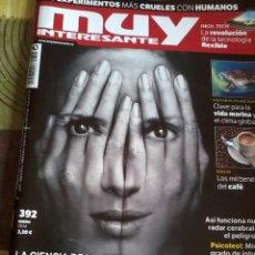 Collectionnisme de Magazine Muy Interesante: MUY INTERESANTE ENERO 2014 Nº 392. LA CIENCIA DE LA PREMONICIÓN TU SEXTO SENTIDO B6R. Lote 42484301