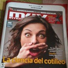 Coleccionismo de Revista Muy Interesante: MUY INTERESANTE Nº 388 SEPTIEMBRE 2013. LA CIENCIA DEL COTILLEO. B6R. Lote 42484556