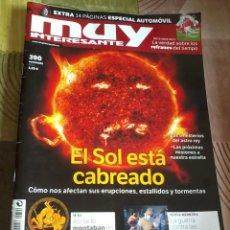 Coleccionismo de Revista Muy Interesante: MUY INTERESANTE Nº 390 NOVIEMBRE 2013. EL SOL ESTÁ CABREADO. B6R. Lote 42484633