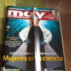 Coleccionismo de Revista Muy Interesante: MUY INTERESANTEN 389 OCTUBRE 2013. SUPERPREPARADAS Y EMPRENDEDORAS MUJERES EN LA CIENCIA. B6R. Lote 42484714