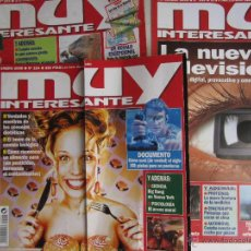 Coleccionismo de Revista Muy Interesante: MUY INTERESANTE LOTE 3 AÑO 2000. Lote 42790105