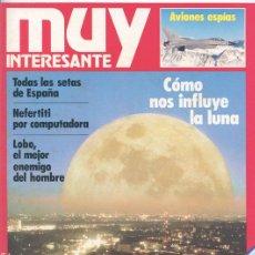 Coleccionismo de Revista Muy Interesante: REVISTA MUY INTERESANTE - Nº 6 - NOVIEMBRE 1981 - CÓMO NOS INFLUYE LA LUNA. Lote 43223082
