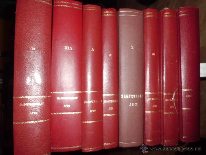 MUY INTERESANTE LOTE DE 8 VOLUMENES ENCUADERNADOS LEER DESCRIPCION (Coleccionismo - Revistas y Periódicos Modernos (a partir de 1.940) - Revista Muy Interesante)