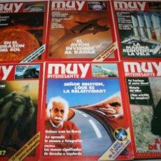 Coleccionismo de Revista Muy Interesante: LOTE DE 6 REVISTAS - REVISTA MUY INTERESANTE Nº 12, 13, 14, 15, 17, 19. Lote 43778705