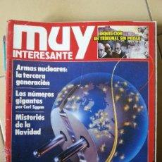 Coleccionismo de Revista Muy Interesante: REVISTA MUY INTERESANTE Nº 79 DICIEMBRE 1987. Lote 44076874
