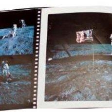 Coleccionismo de Revista Muy Interesante: LIBRITO QUADERNO EDITADO POR HASSELBLAD EN FRANCÉS, FOTOS DEL VIAJE A LA LUNA. Lote 44111594