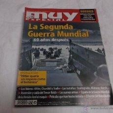 Collectionnisme de Magazine Muy Interesante: MUY INTERESANTE ESPECIAL Nº 68. LA SEGUNDA GUERRA MUNDIAL. HITLER, CHURRCHILL Y STALLIN.TERCER REICH. Lote 90392966