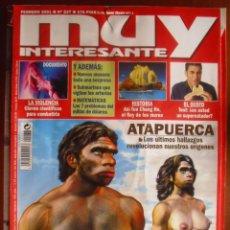 Coleccionismo de Revista Muy Interesante: MUY INTERESANTE, 237. FEBRERO 2001. LA PAREJA QUE CONQUISTÓ EUROPA.. Lote 44354680