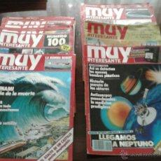 Coleccionismo de Revista Muy Interesante: LOTE DE 56 REVISTAS DE MUY INTERESANTE AÑOS 80. Lote 44477803