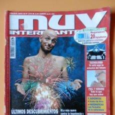 Collectionnisme de Magazine Muy Interesante: MUY INTERESANTE. Nº 279 (SEXUALIDAD MASCULINA) - DIVERSOS AUTORES. Lote 44864713