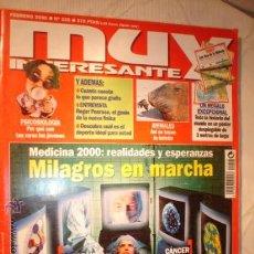 Coleccionismo de Revista Muy Interesante: REVISTA - MUY INTERESANTE, MILAGROS EN MARCHA, Nº 225 FEBRERO DE 2000.. Lote 12612925