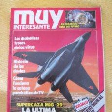 Coleccionismo de Revista Muy Interesante: MUY INTERESANTE 68 - ENERO 1987. Lote 45851076
