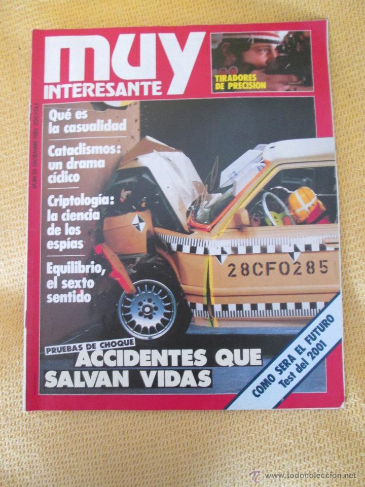 MUY INTERESANTE 55 - DICIEMBRE 1985 (Coleccionismo - Revistas y Periódicos Modernos (a partir de 1.940) - Revista Muy Interesante)
