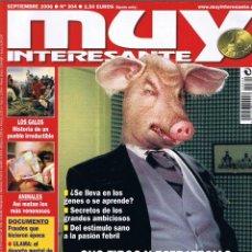 Collectionnisme de Magazine Muy Interesante: REVISTA MUY INTERESANTE - SEPTIEMBRE 2006 - Nº 304 - LA AMBICION - ULAMA - LOS GALOS. Lote 45909821