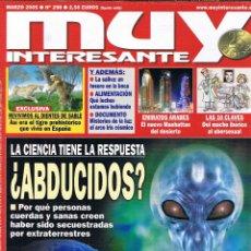 Coleccionismo de Revista Muy Interesante: REVISTA MUY INTERESANTE - MARZO 2006 - Nº 298 - ERRATA AÑO PORTADA - ABDUCCIONES - EMIRATOS. Lote 45909959