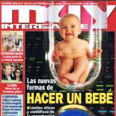Collectionnisme de Magazine Muy Interesante: REVISTA MUY INTERESANTE - OCTUBRE 2003 - Nº 269 - FORMAS DE HACER UN BEBE - BJORN LOMBORG. Lote 45910578