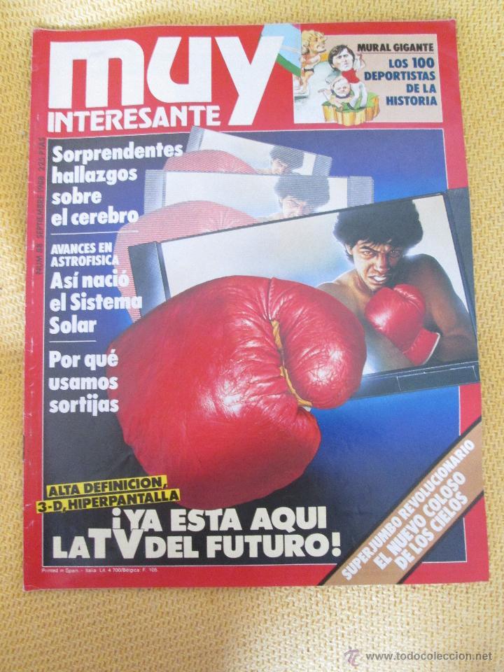 MUY INTERESANTE 88 - SEPTIEMBRE 1988 (Coleccionismo - Revistas y Periódicos Modernos (a partir de 1.940) - Revista Muy Interesante)