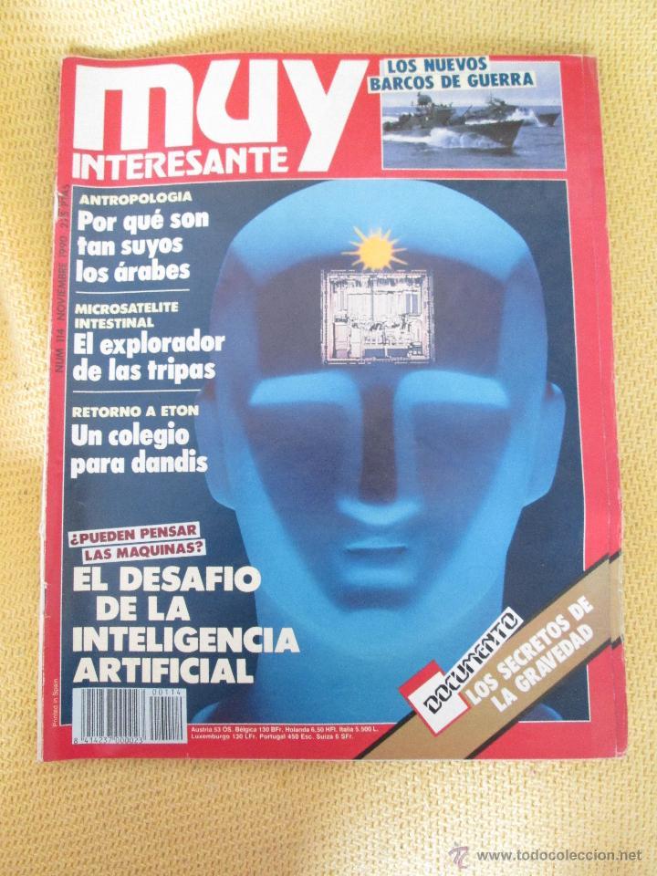 MUY INTERESANTE 114 - NOVIEMBRE 1990 (Coleccionismo - Revistas y Periódicos Modernos (a partir de 1.940) - Revista Muy Interesante)