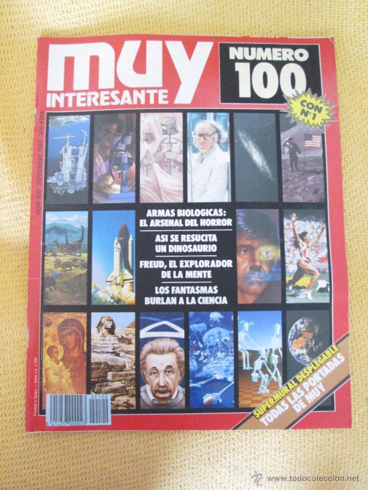 MUY INTERESANTE 100 - SEPTIEMBRE 1989 (Coleccionismo - Revistas y Periódicos Modernos (a partir de 1.940) - Revista Muy Interesante)