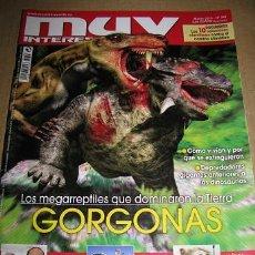 Coleccionismo de Revista Muy Interesante: MUY INTERESANTE Nº346 (EN PORTADA:GORGONAS,LOS MEGAREPTILES QUE DOMINARON LA TIERRA). Lote 53162224