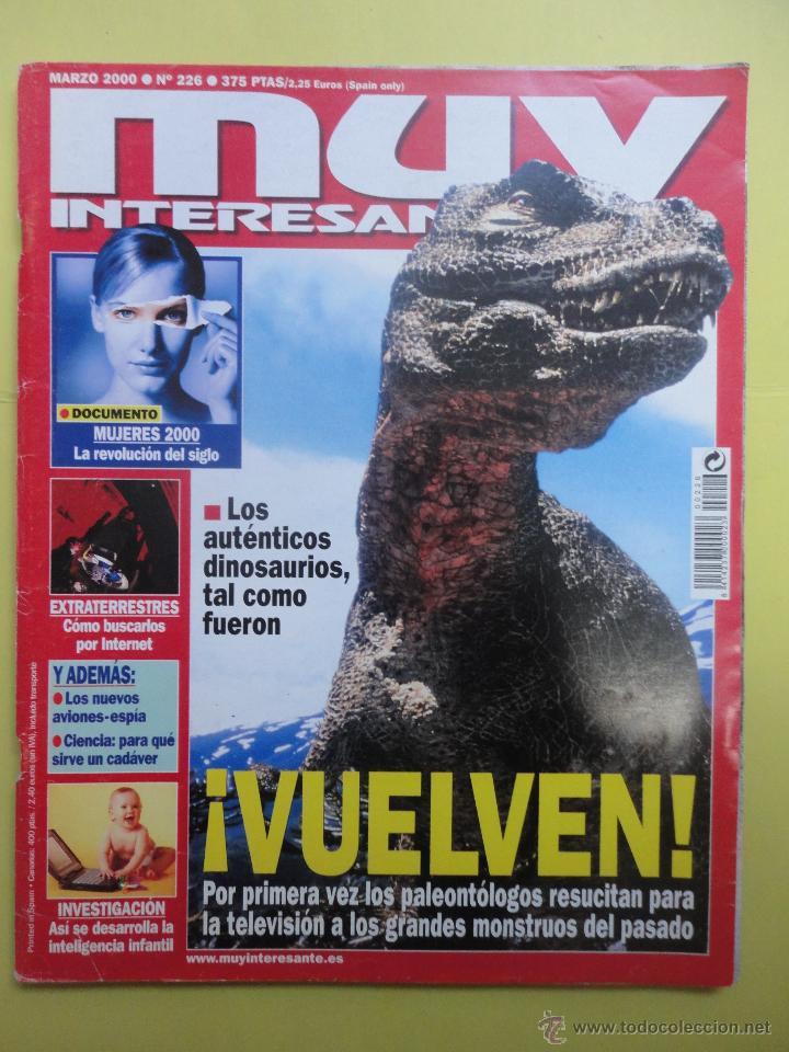 MUY INTERESANTE Nº 226. (Coleccionismo - Revistas y Periódicos Modernos (a partir de 1.940) - Revista Muy Interesante)
